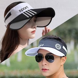 스포트 날개썬캡 자외선차단 골프모자 등산모자 낚시모자 썬바이저 모자 선캡