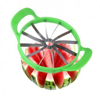 수박 메론 멜론 슬라이스 자르기 커터 커팅기 칼 화채칼 대형