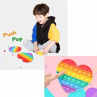 kc인증 실리콘 버블팝 푸쉬팝 실리콘 뽁뽁이 장난감 치매예방 감각발달 게임 스트레스해
