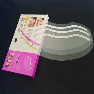 투명 얼굴 보호 커버 미용실 페이스 캡 페이스 필름 쉴드 100매