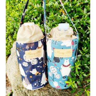 고급 보온보냉가방 디자인다양 물통 유치원 간식음료수통 휴대용 텀블러 탈부착어깨끈가방
