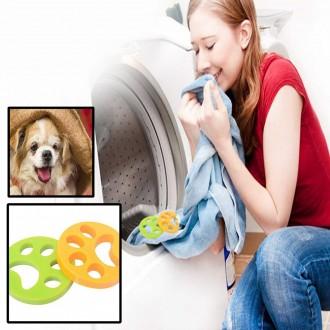 먼지 털 다잡아먹는 흡착 실리콘 세탁기거름망 반영구사용 먼지털제거 흡착세탁용품