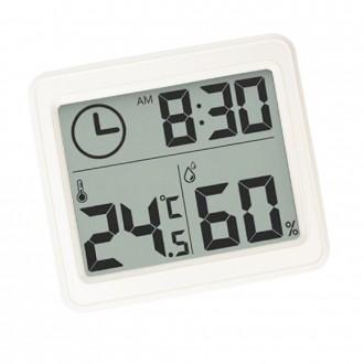 웰닷 디지털 온습도계 시계 날짜 기능