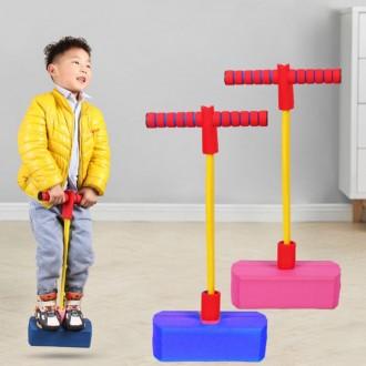 상상홀릭 스카이 점핑 성장판자극 스펀지 콩콩 어린이 다이어트 유아 집콕놀이