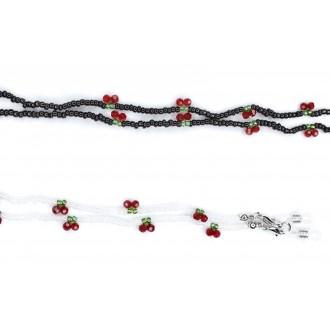 비즈앵두마스크 스트랩(색상당10개 주문가능)유아 마스크줄 진주마스크줄
