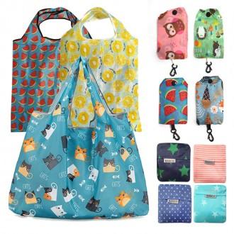 휴대용 접이식 미니 장바구니 시장가방 에코백 답례품 보조가방 개별포장 당일발송