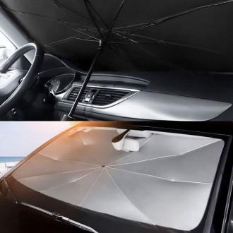 차량용 앞유리 우산형 햇빛가리개 선블록 양산 가림막 열차단 우산
