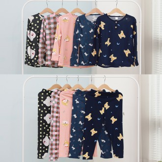 아동피치잠옷 키즈잠옷 유아잠옷 어린이용 긴팔파자마