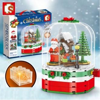 회전산타블럭/크리스마스블럭/선물/사은품/판매용/최저가판매