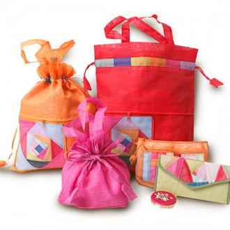 설선물 전통문양 3타입 핸드백/전통/설날/답례품/ 추석선물