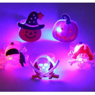 LED불빛반지/할로윈반지/과일반지/산타반지/어린이날선물사은품