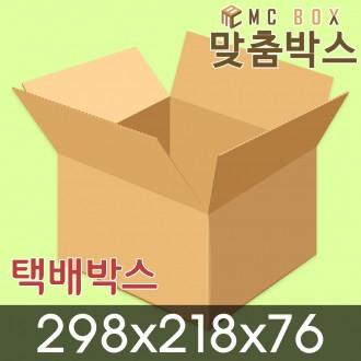 택배박스 포장박스 298x218x76 (140장) / A-901