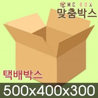 택배박스 포장박스 500x400x300 (40장) / A-004