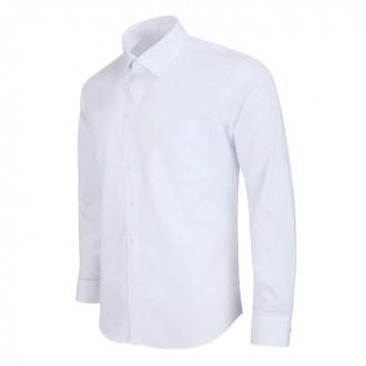 레귤러 남자 흰색 화이트 정장 긴팔 와이셔츠 MN001