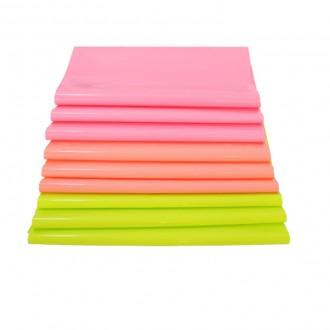 [택배봉투] LDPE 이중지 형광색 택배봉투 원포장산업