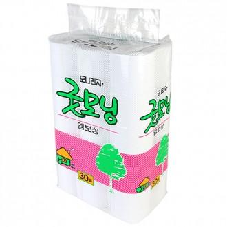 모나리자 엠보싱데코2겹 롤화장지 40m 휴지(30롤)