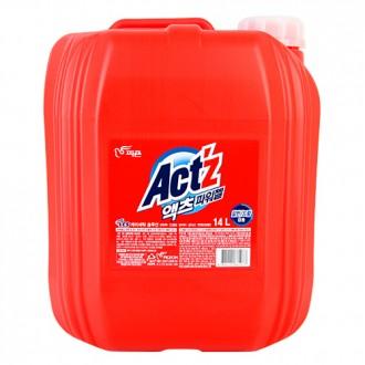 피죤 액츠 파워젤 일반 드럼겸용 세탁세제 14L 대용량