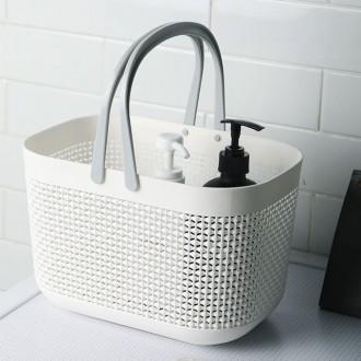 [PK] 고급 물빠지는 목욕바구니 다용도바구니 목욕가방