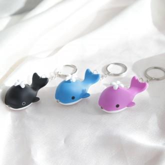 [도매하우스] LED 돌고래 키링 3color