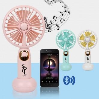 [한정특가] new 휴대용 캠핑용 블루투스 선풍기 핸디선풍기 USB충전식