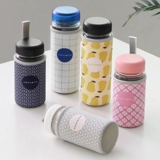 어썸보틀 디자인 보틀 파우치 물병커버 네오프랜재질(보틀미포함)