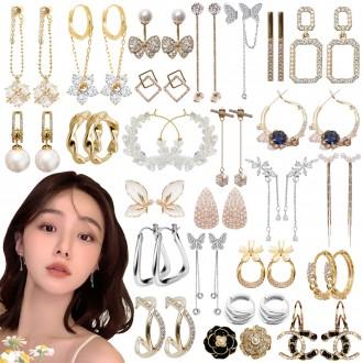 가을 최신상 은침 귀걸이 입고/ 헤어집게핀 / 반지 /팔찌 /목걸이/ 머리끈 모음전