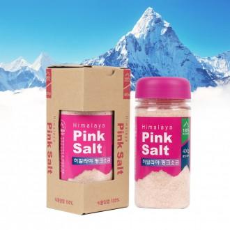 히말라야 핑크소금 선물세트 400g x 1개입 (고운소금)