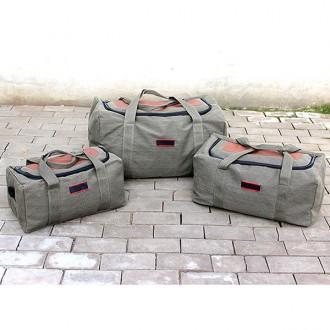 캔버스 캠핑 여행 대용량 가방(대형)