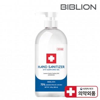 [에탄올70%] 500ml 대용량 손소독제 홈쇼핑상품 닥터스크린 손세정제 항균 바이러스 99% 살균 es