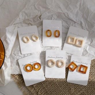 [도매하우스] 호마이카 미니 귀걸이 3type / 2color / 인기 여성귀걸이