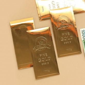 핑크풋 황금봉투 - 화려한 황금색 고급봉투