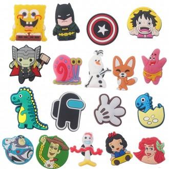 아동 캐릭터 지비츠 8개묶음 세트 포장 인기 봄 디즈니 만화