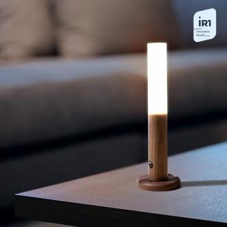 [센서감지스틱] LED 우드스틱조명 북유럽 센서등 무드등 팬던트 식탁등 인테리어 거실등 원목 ij
