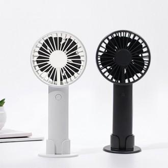 [듀얼팬 선풍기] 듀얼로 강력한 바람 125g 가벼운 팬선풍기 야외캠핑 선풍기 손선풍기 휴대용선풍기 ij