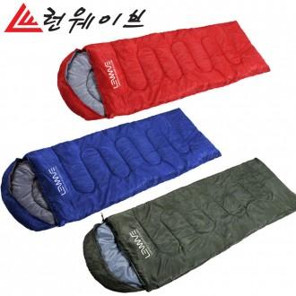 정품 런웨이브 하계용 사계절 침낭 차박 캠핑 비박 텐트 필수품