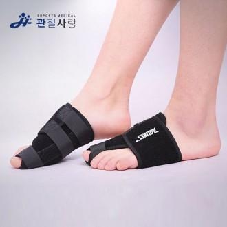 관절사랑 핼럭스 발자세 큐어밴드 / 자세 고정 헬스