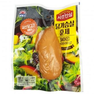 [특가]IN688 대림 닭가슴살 훈제 100g