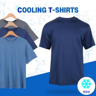[범진통상] 기능성 쿨링/냉감 남성 반팔 티셔츠 (95-110) 21-WT022