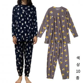 여자 피치기모 잠옷 꿀잠 마약 잠옷 상하의세트 우유 파자마 케릭터 홈웨어 10종