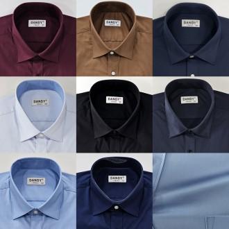 남성 와이셔츠 구김없고 편안한 스판 일반핏 정장 남자 남방 셔츠 긴팔 스트라이프 빅사이즈