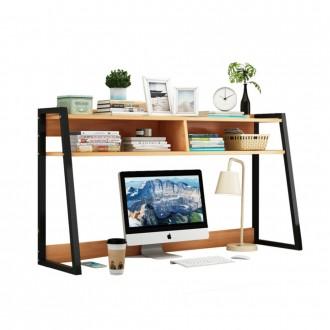 2단 책상위 선반 책상정리대 책꽂이 책상정리선반