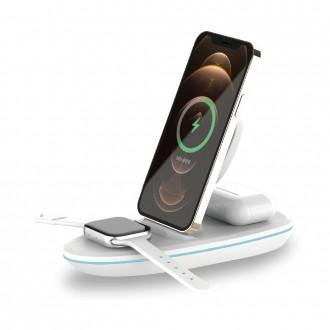 IQW-3300 애플워치용 올인원 무선고속충전기 충전패드