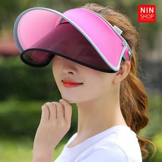 더블 레이어 선캡 썬캡 자외선차단 여름 필수품
