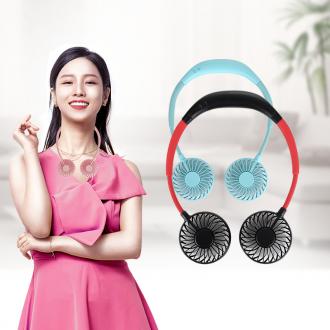 넥밴드선풍기 휴대용 미니 목선풍기 목걸이 선풍기 LED KC 대량구매문의