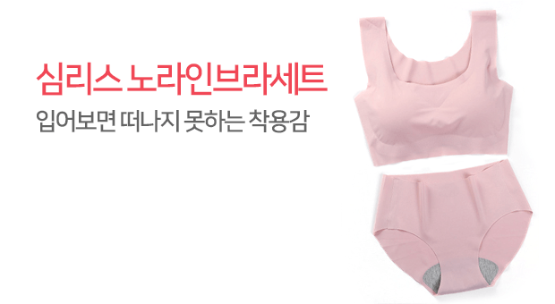 심리스노라인속옷세트 특가
