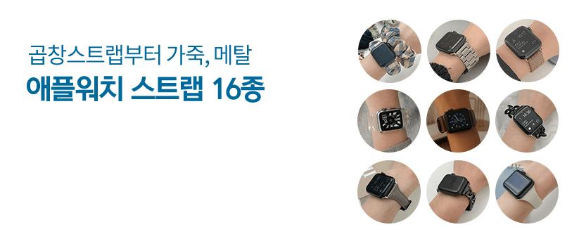 애플워치 스트랩 16종 컬렉션