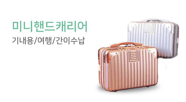 닌샵 미니핸드캐리어/기내용/여행/간이수납