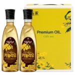 라우라 해바라기씨유(500mlx2P)유리병/오일선물세트