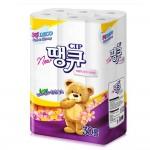 뉴땡큐 휴지 3겹/30롤 화장지/두루마리휴지/휴