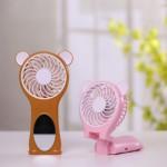 거울선풍기 kc인증 USB미니선풍기 휴대용선기 10일간 할인행사